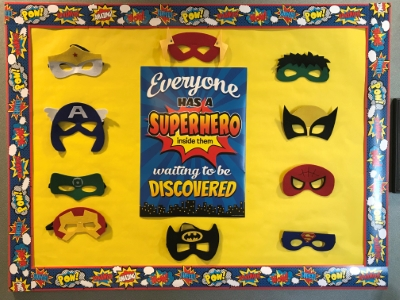 whos your superhero whos impacted your life Clinebellortho Decatur GA