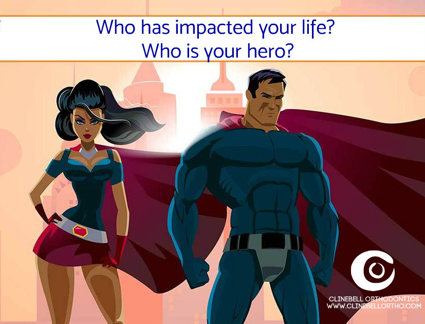 whos your hero ClinebellOrtho Decatur Atlanta GA  2018 Contest superhero logo