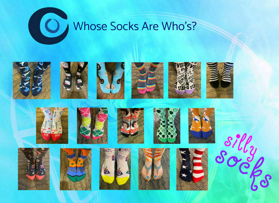 socks contest- Dr John Clinebell March Contest