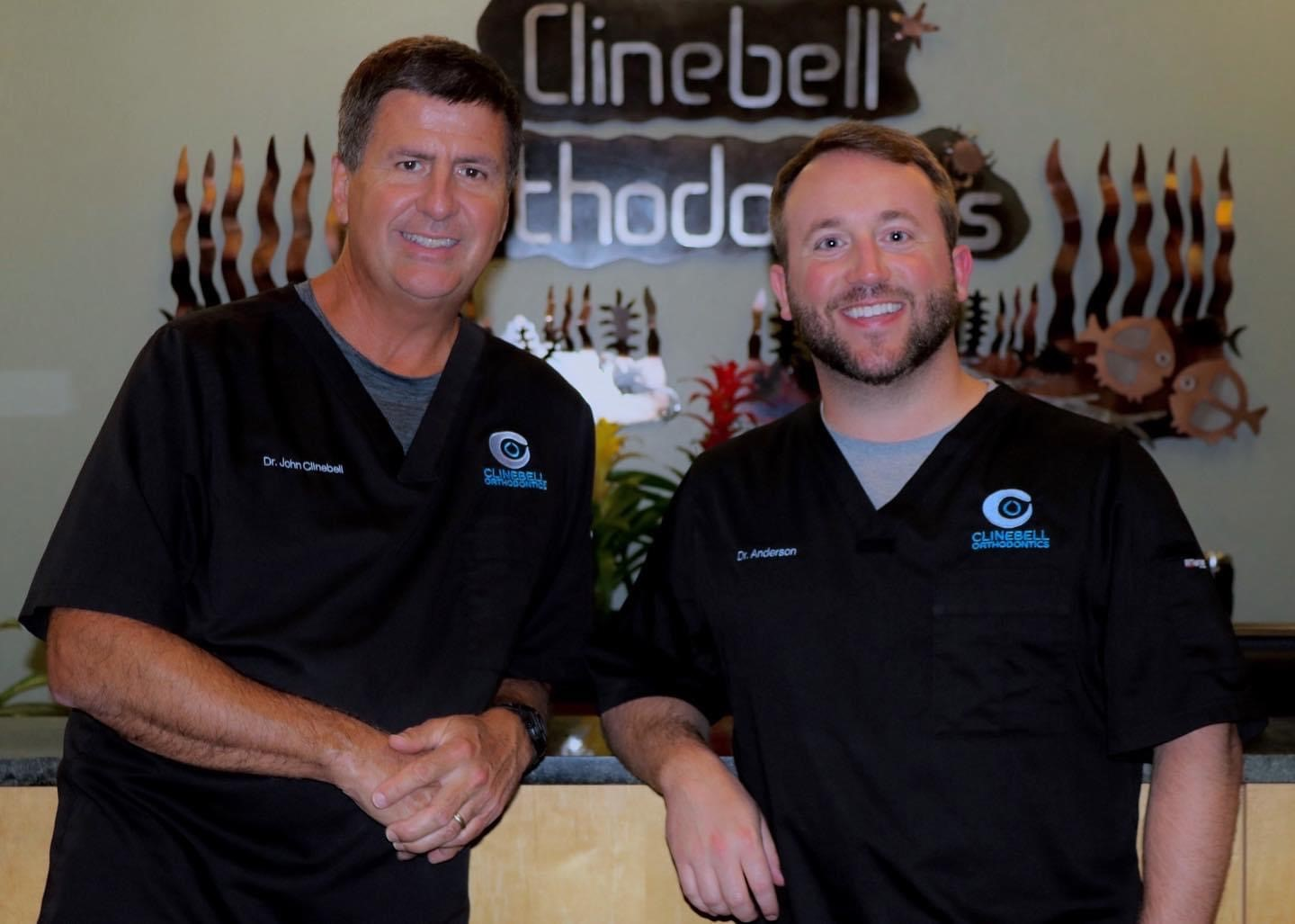 Dr Clinebell and Dr. Anderson  Clinebell Orthodontics Adults and Children braces Tucker Decatur Atlanta GA