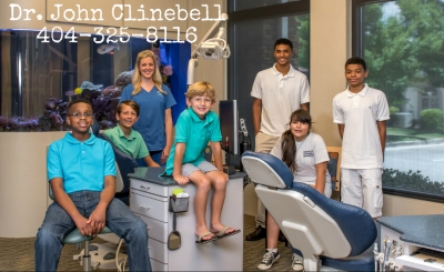 Dr Clinebell ortho Decatur GA Atlanta GA kids and adults braces